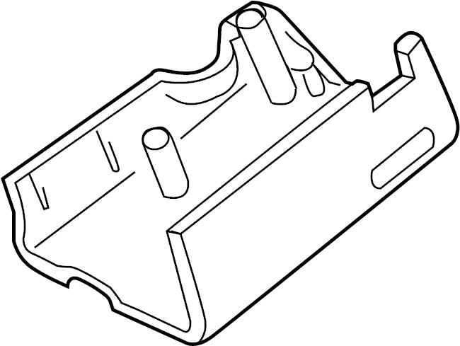 Ford Explorer Sport Trac Steering Column Cover (Lower