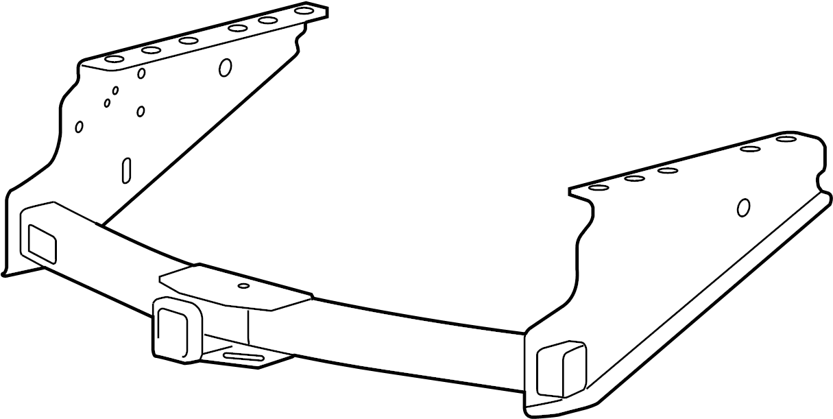 Ford F-250 Super Duty Trailer Hitch. FACTORY, 12, 500 lbs