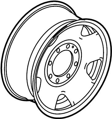 2015 Ford Wheel asy. Wheel, spare. Wheel, steel. Valve