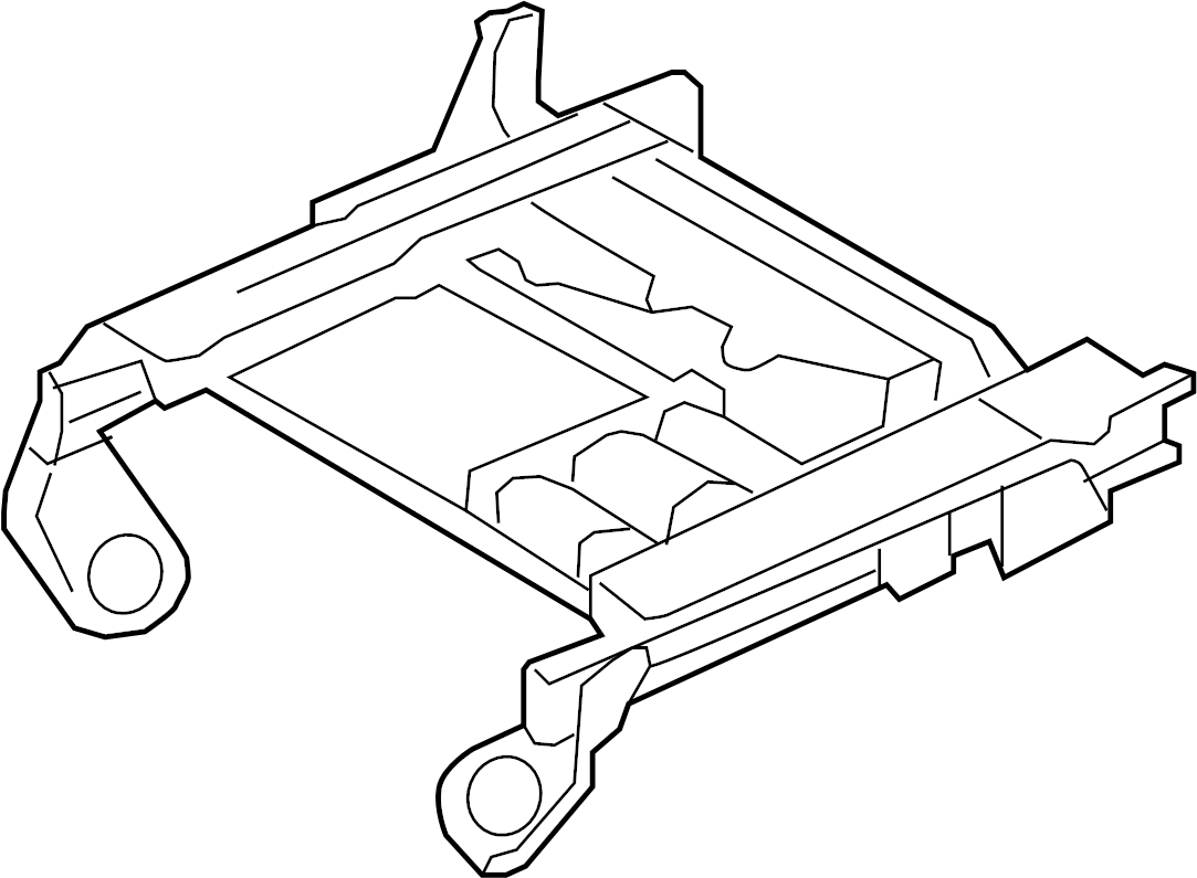 2000 Ford F-250 Super Duty Adjuster. Seat track. Track