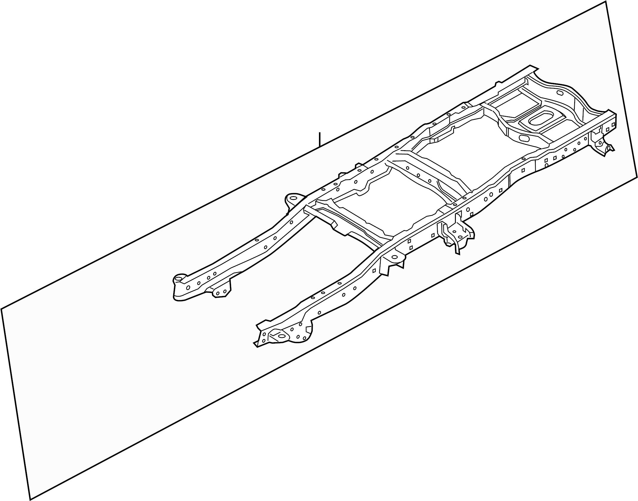 Ford F 250 Super Duty Frame Rail