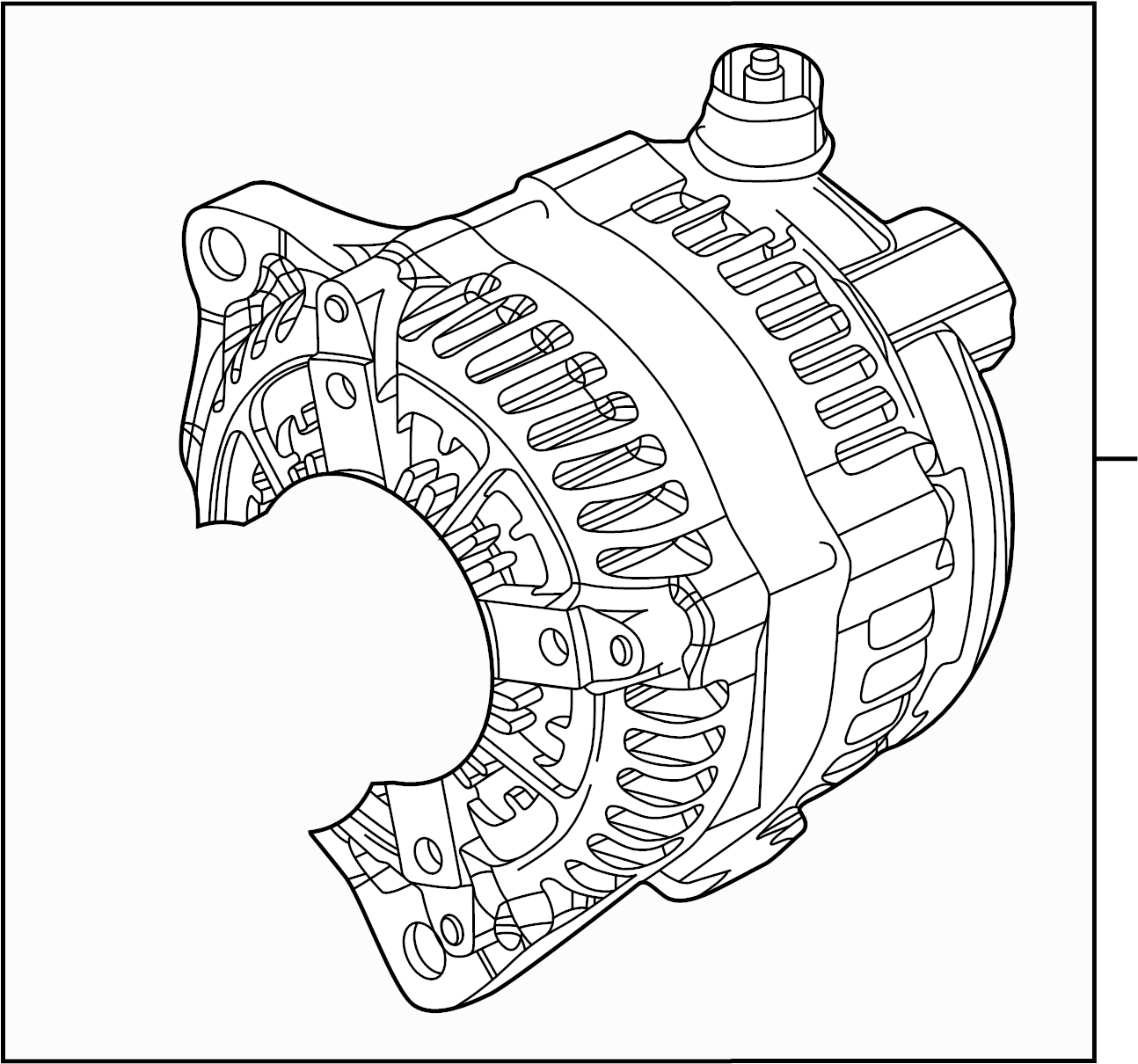 Ford F 250 Super Duty Alternator