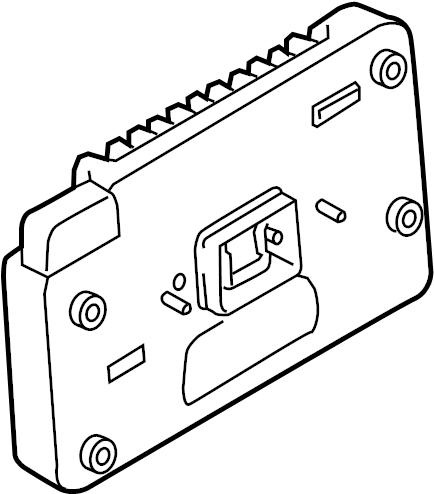 2014 Ford Focus Control module. Module. Ford; lincoln