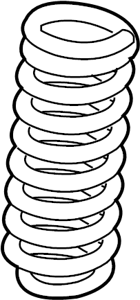 Ford F-250 Super Duty Coil Spring (Front). AED, Rightcode