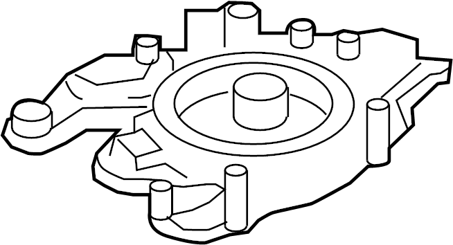 Ford F-250 Super Duty Oil feed tube. Turbocharger Oil Line