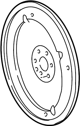 2002 Ford E-150 Econoline Automatic Transmission Flexplate