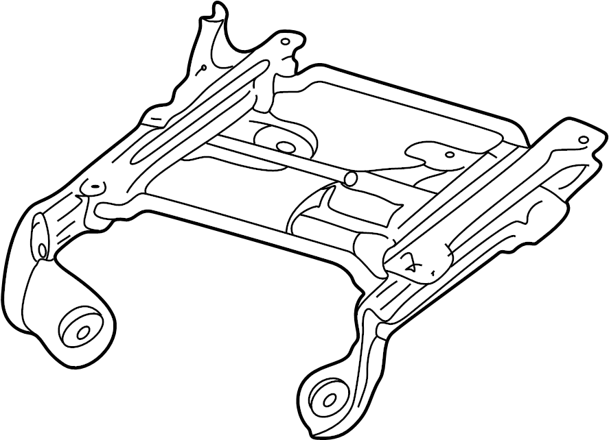 2000 Ford F-250 Super Duty Track. Seat. ADJUSTER. ASSEMBLY