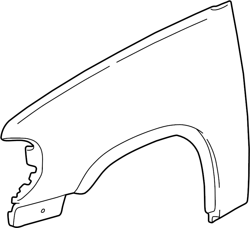 Ford Explorer Wheel. Molding. Opening. Arch. Fender Flare