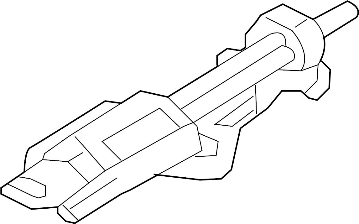 Ford Explorer Column ASSEMBLY. Steering column. From 04/14