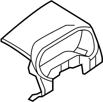 2008 Ford Explorer Instrument Cluster Bezel. 2006-10
