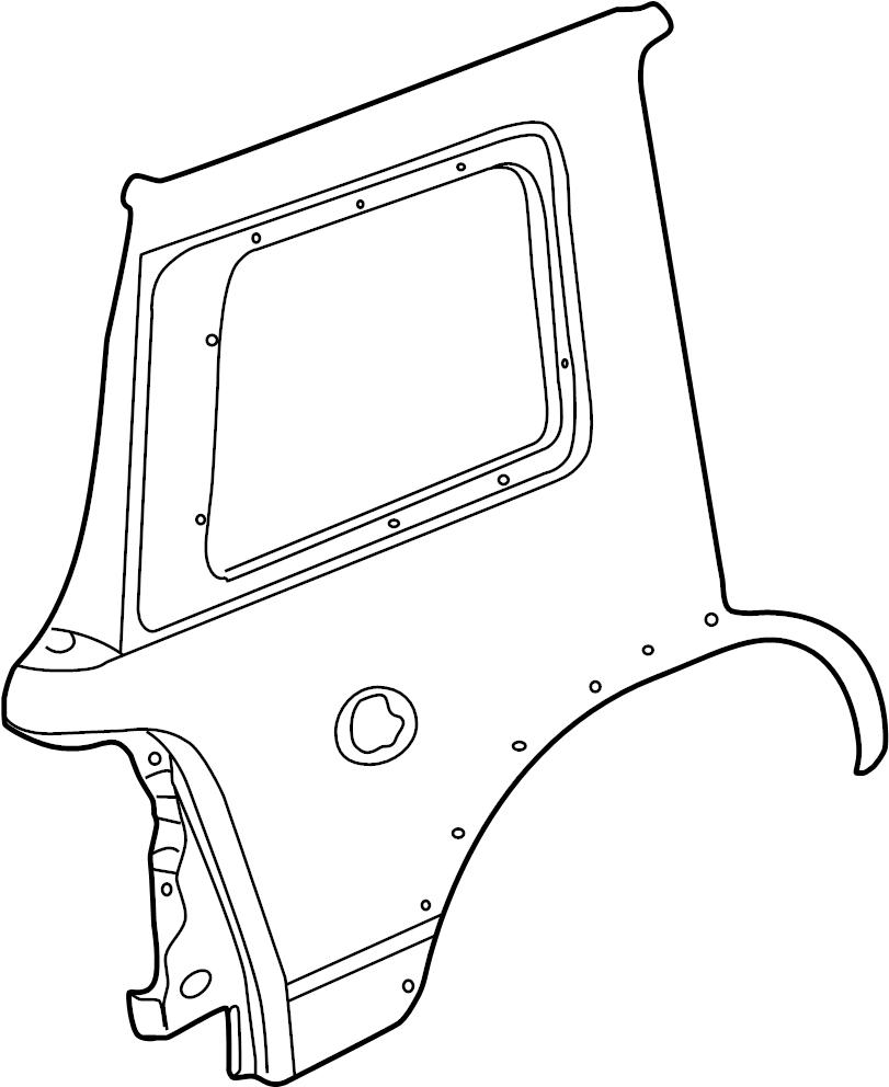 Ford Explorer Panel. Quarter. Xlt, eddie bauer, limited, w
