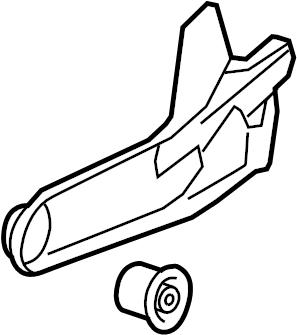 Ford Explorer Sport Trac Arm. Suspension. Trailing. (Rear