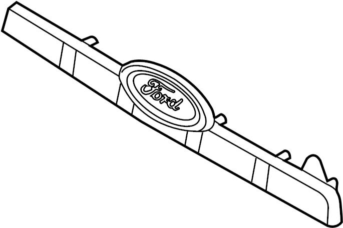 2008 Ford Explorer License. 2006-10. 2006-10, w/o IRONMAN
