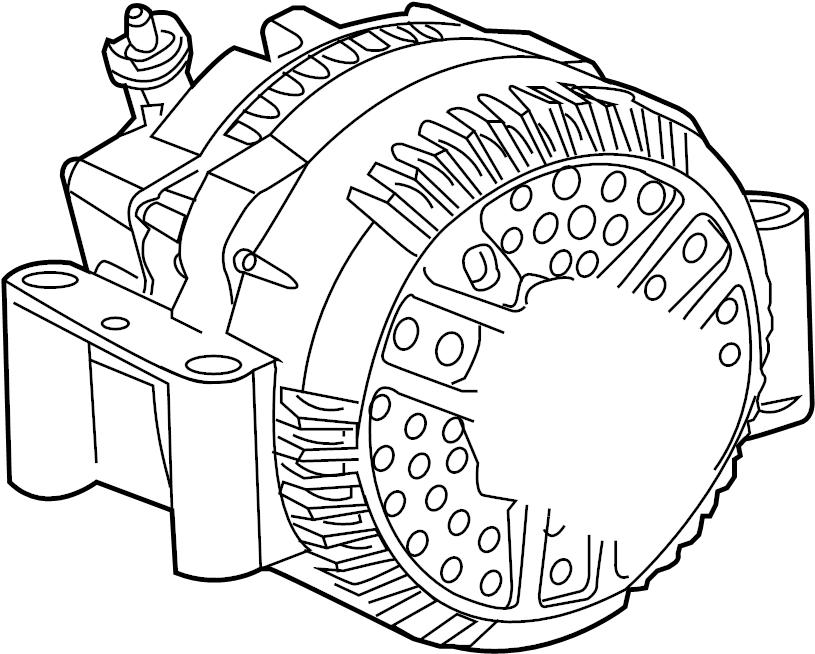 Ford Explorer Alternator. Amp, LITER, Battery