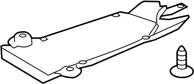 Ford Explorer Radiator Support Splash Shield (Front, Lower