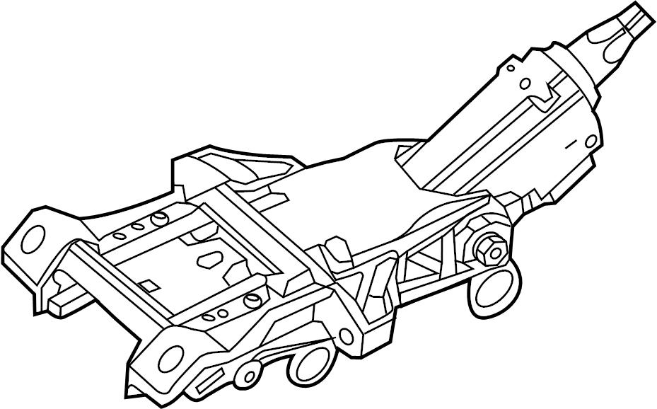 Ford Explorer Steering Column. TILTSLIDE, WMANUAL, Manual