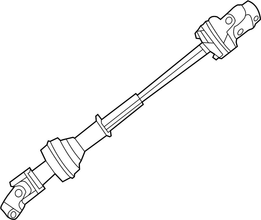 Ford Explorer Steering Shaft (Lower). TiltSlide