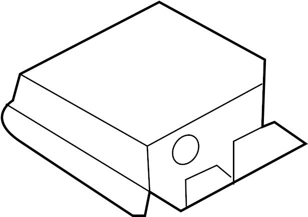 Ford Explorer Air Bag Control Module. MODULES, SENSORS