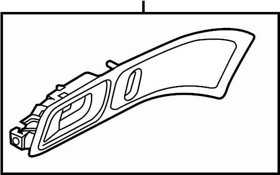 Ford Explorer Interior Door Handle. May, Model