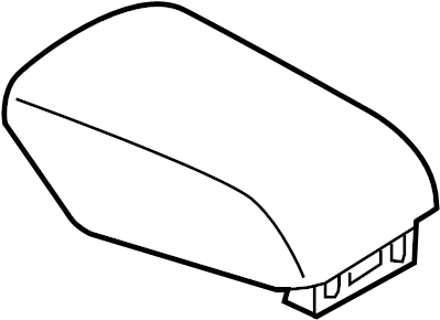 Ford Police Interceptor Utility Armrest. Door. Console
