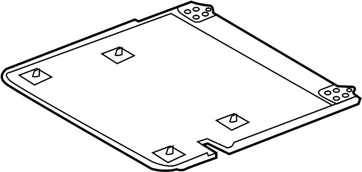 Ford Explorer Seat Trim Panel (Lower). SPLIT BENCH, W