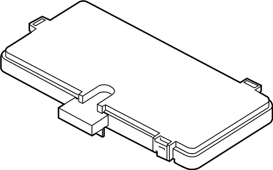 Ford Explorer Fuse Box Cover. BODY CONTROL MODULE. Upper