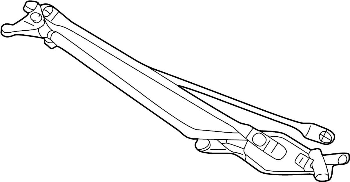 Ford F-250 Super Duty Linkage. MOTOR. Wiper. Excursion