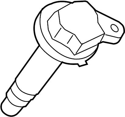 2014 Ford Explorer Direct Ignition Coil. LITER, WTURBO