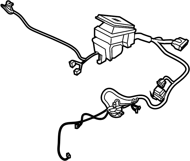 Ford Transit-350 Connector wire. Engine Wiring Harness
