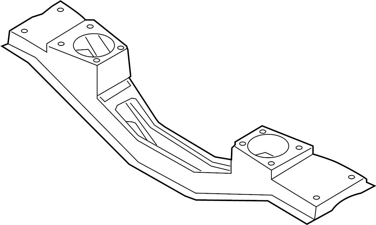 Ford Transit 250 Engine Cradle Front 3 2 Liter 3 5