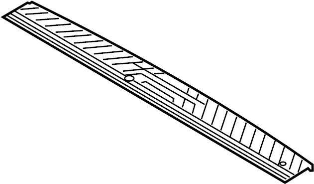 2015 Ford Transit-150 Door Sill Plate (Rear). WHEELBASE
