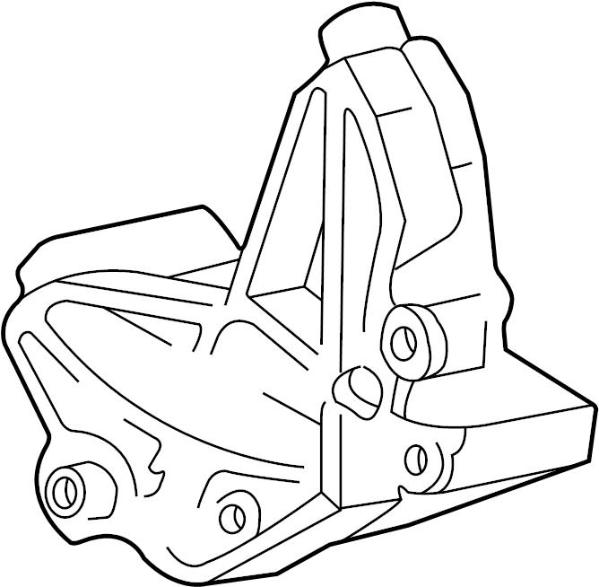 Ford Explorer Alternator Bracket. 4.0 LITER. 4.0 liter