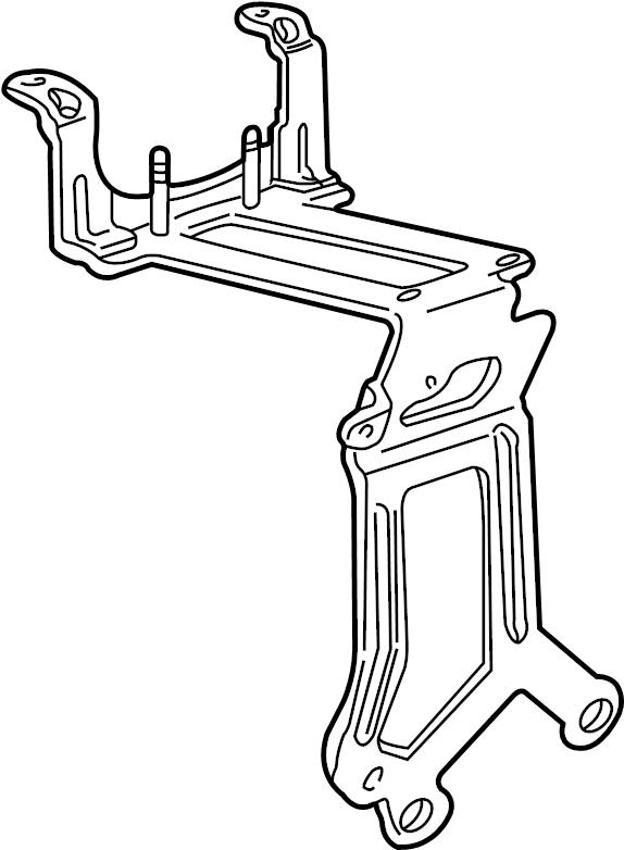 Ford Ranger Ignition Coil Mounting Bracket. 4.0 LITER