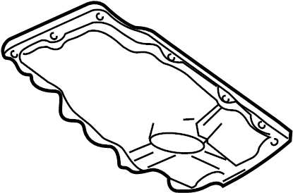 2007 Ford Engine Oil Pan. Lower, BEARINGS, LITER