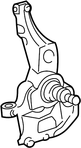 Ford Explorer Knuckle ASSEMBLY. SPINDLE. Steering Knuckle