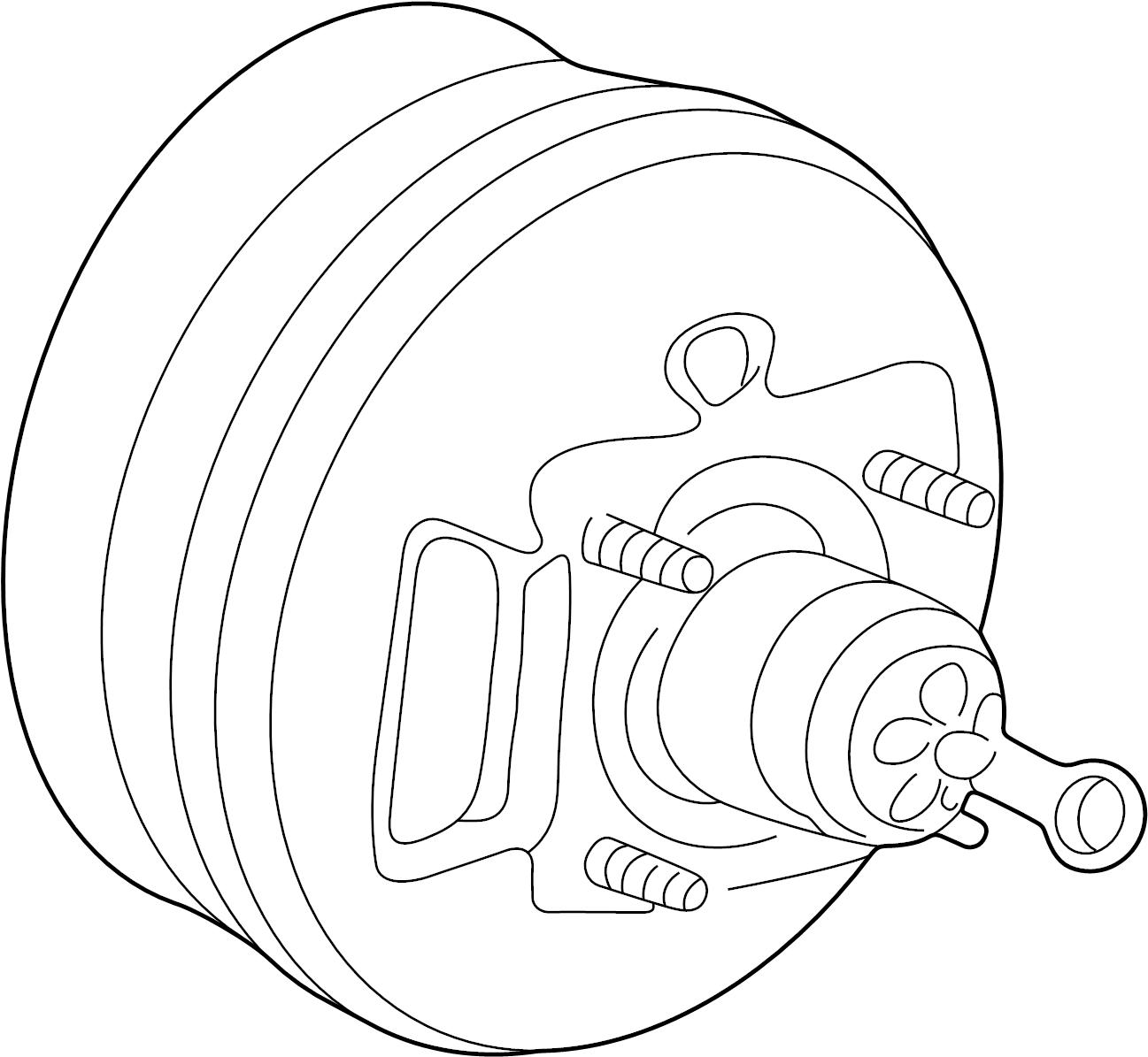 Ford Explorer Sport Trac Power Brake Booster. Booster