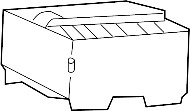 Ford Explorer Sport Trac Battery Cover. Fuse box cover