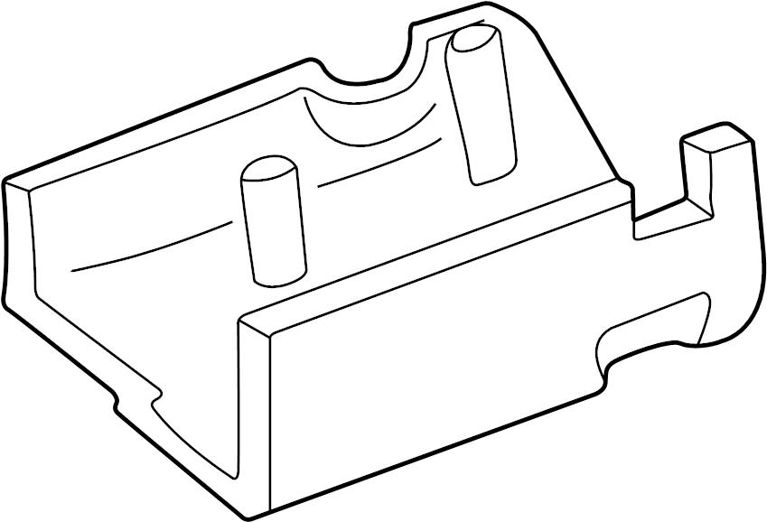 Ford Ranger Steering Column Cover. Explorer; w/o Tilt