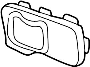 Ford Explorer Sport Trac Bezel. Handle. Escutcheon