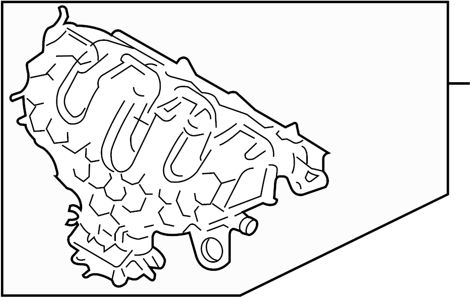 Ford Edge Control Solenoid. LITER, Engine, BEARINGS