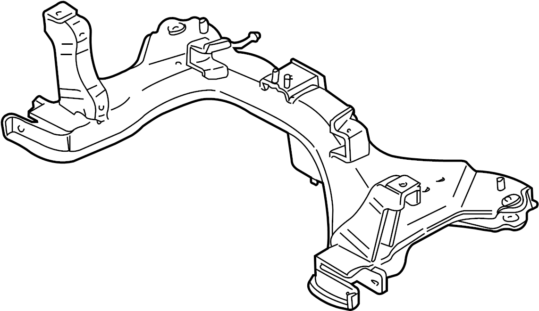 2004 Ford Escape Engine Cradle. Escape, Mariner; To 12/15