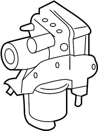 Ford Escape Control. Module. Abs. Modulator valve. Ler. A