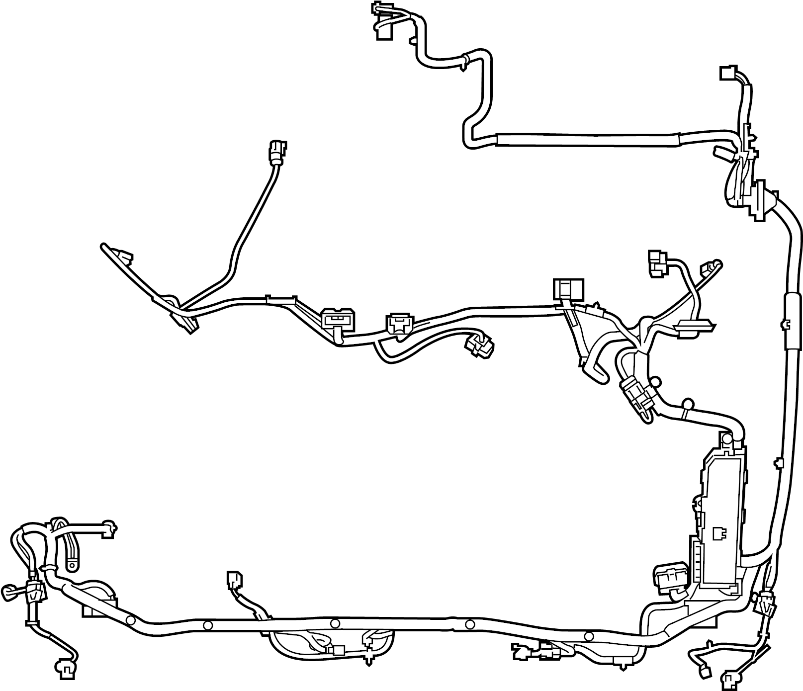 Ford Engine Harness