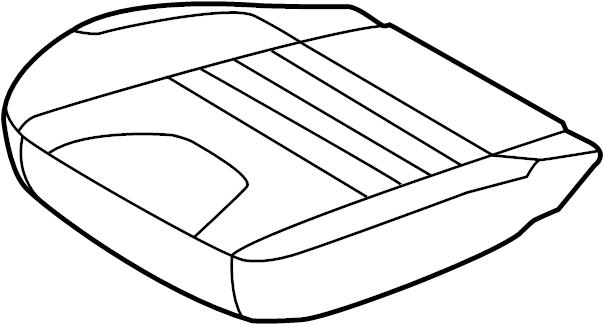 Ford Escape Seat Cover. VIEW cloth, stone. Cloth SE, stone