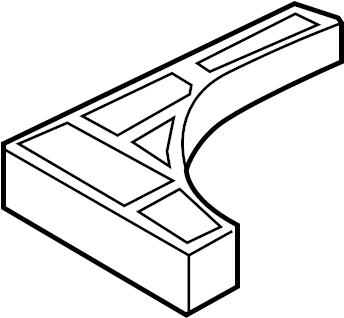 2017 Ford Trunk Floor Storage Box. 2013-2014, w/mini spare