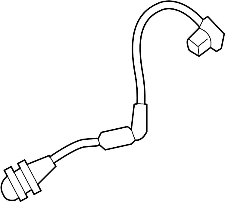 Ford Escape Back Up Light Socket. INNER, 2017-19