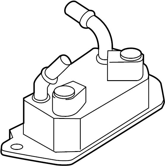 Ford Escape Automatic Transmission Oil Cooler. LITER
