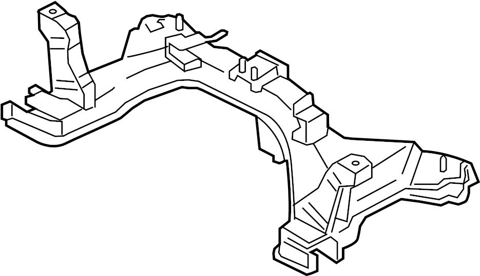 Ford Escape Engine Cradle. Escape, Mariner. Suspension