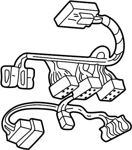 Ford F-150 Wire harness. Included with: Overhead console