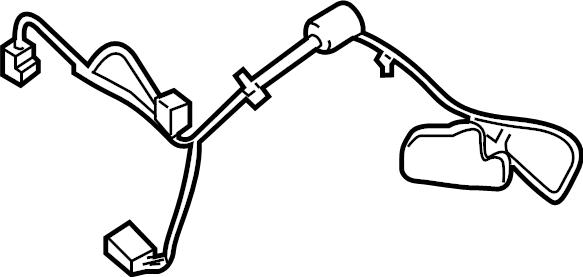 Ford F-350 Super Duty Hvac system wiring harness. W/dual